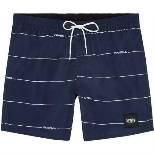O'NEILL MENS SWIM SHORTS.NEW CONTOURZ STRIPED QUICK DRY LINED BOARDIES 9S 11/591